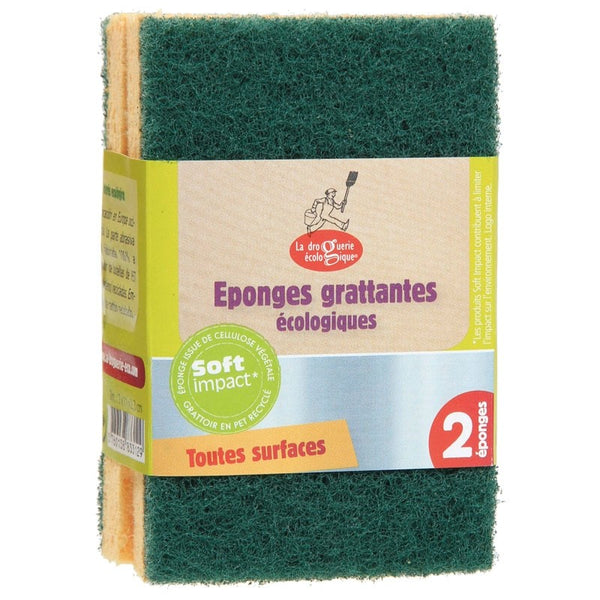 Eco-friendly sponges
