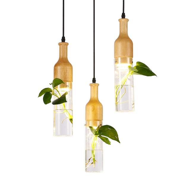 LED light with planter Decoration Pendant lights