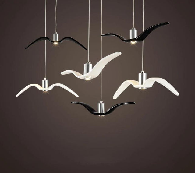 Flying Birds Pendant Light