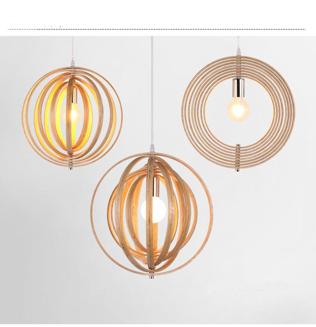 40 cm multilayered circular pendant light