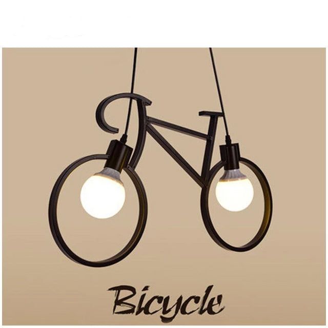 Bicycle pendant light