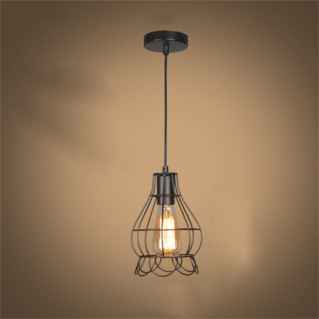 Sydnee Wire Retro Lamp