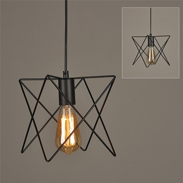 Lindsay Retro Wire lamp