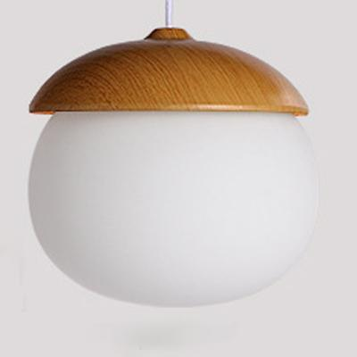 Acorn pendant lights