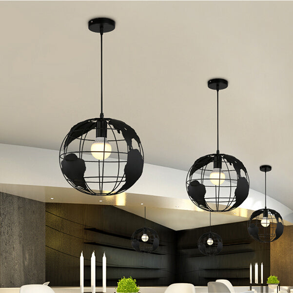 Metal Earth Pendant Lamp