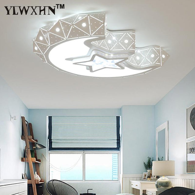 Moon and stars ceiling light in different sizes
