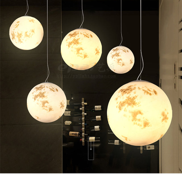 Moon pendant light 20 CM