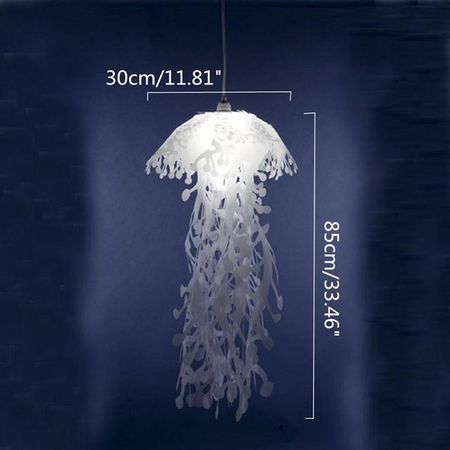 Jellyfish Shaped Pendant Light