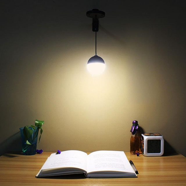 Small magnetic reading light