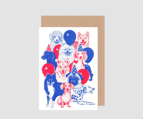 PrintCatcher David Stettler Riso carte de voeux illustration swiss design