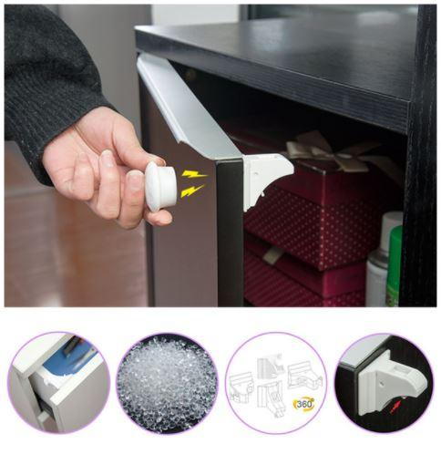 Child Proof Magnetic Cabinet Safety Locks