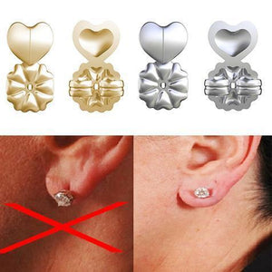 Magic Earring Lifter - 18K Gold Plating Hypoallergenic Support Earring Backs