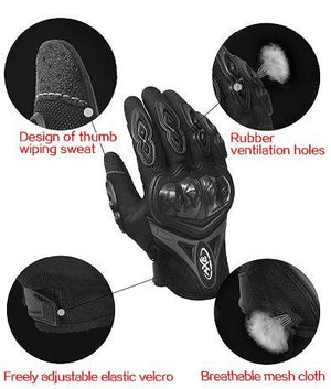 Breathable Wearable Knight Protective Gloves