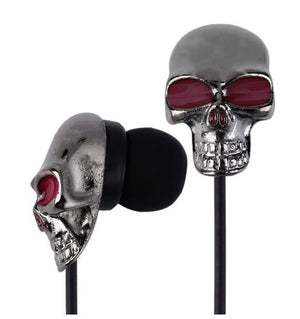Skull Stereo Bass Earphone