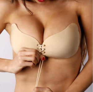 Strapless Drawstrings Push Up Bra (70% OFF)