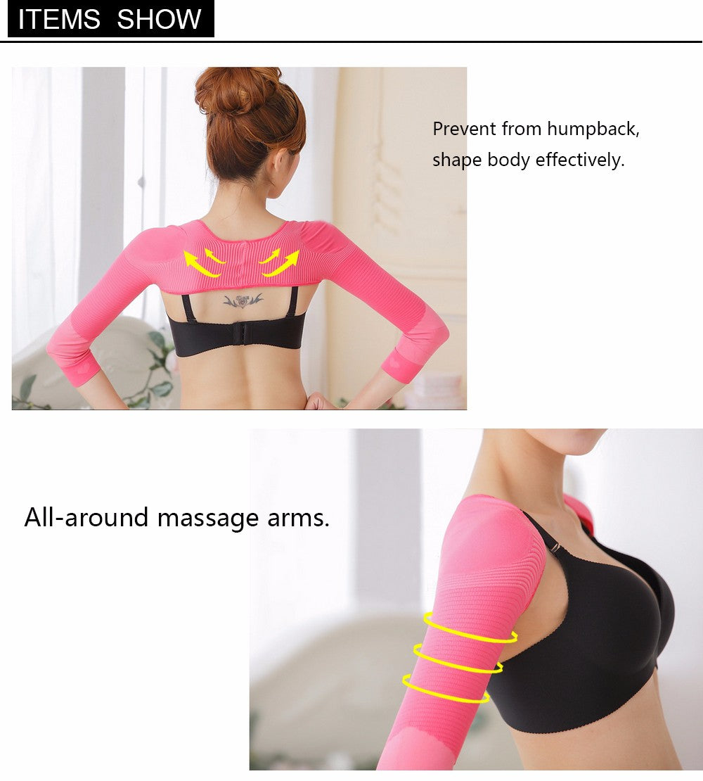 Women Elastic Arm Shapewear Corrector