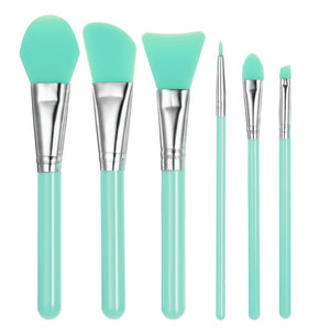 6Pcs/set Professional Silicone Makeup Brush