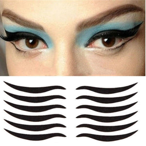 Cat Eye Style Eyeliner Sticker
