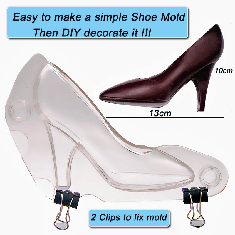 3D High Heels Chocolate Mold