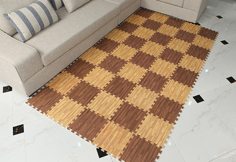 Wood-like Foam Floor Mats (9pcs set)