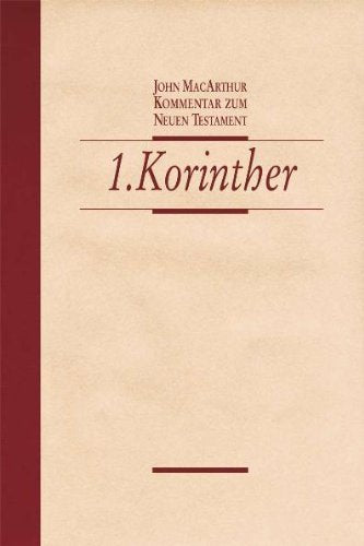 Der 1. Brief an die Korinther