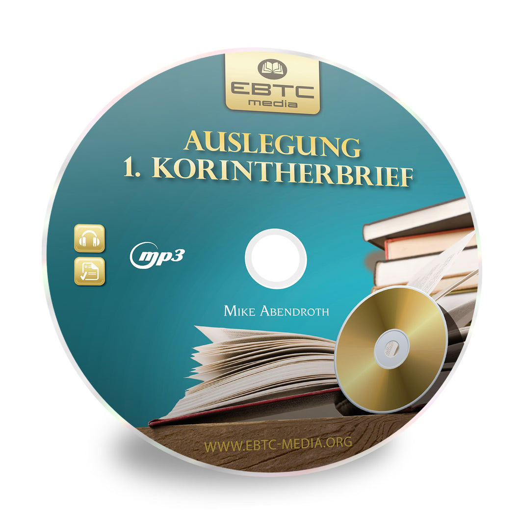 Auslegung 1. Korintherbrief (MP3)