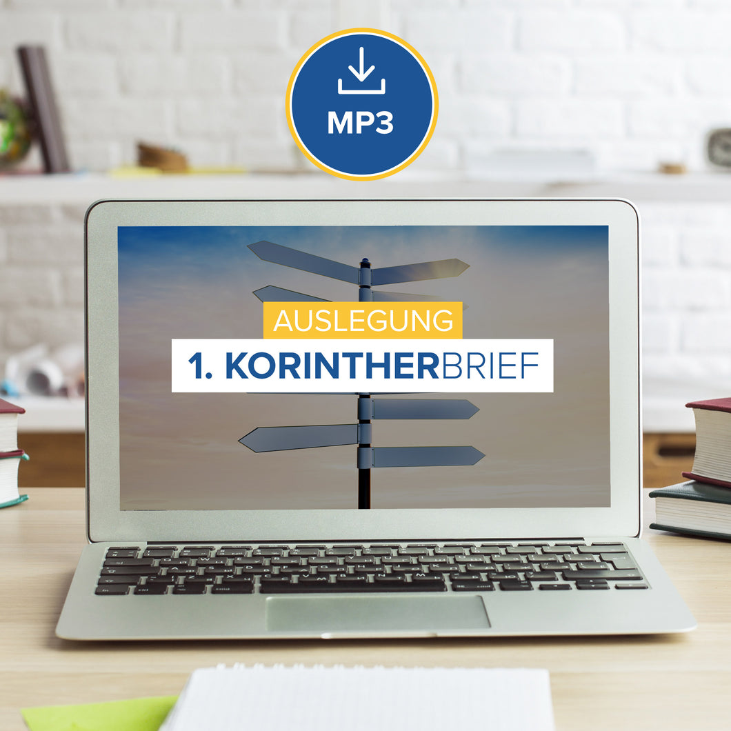 Auslegung 1. Korintherbrief (MP3 Download)