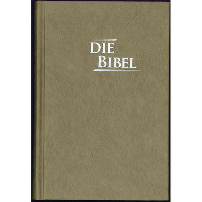 Elberfelder Bibel Edition CSV - Pocketbibel, Hardcover, Baladek, Sandbraun