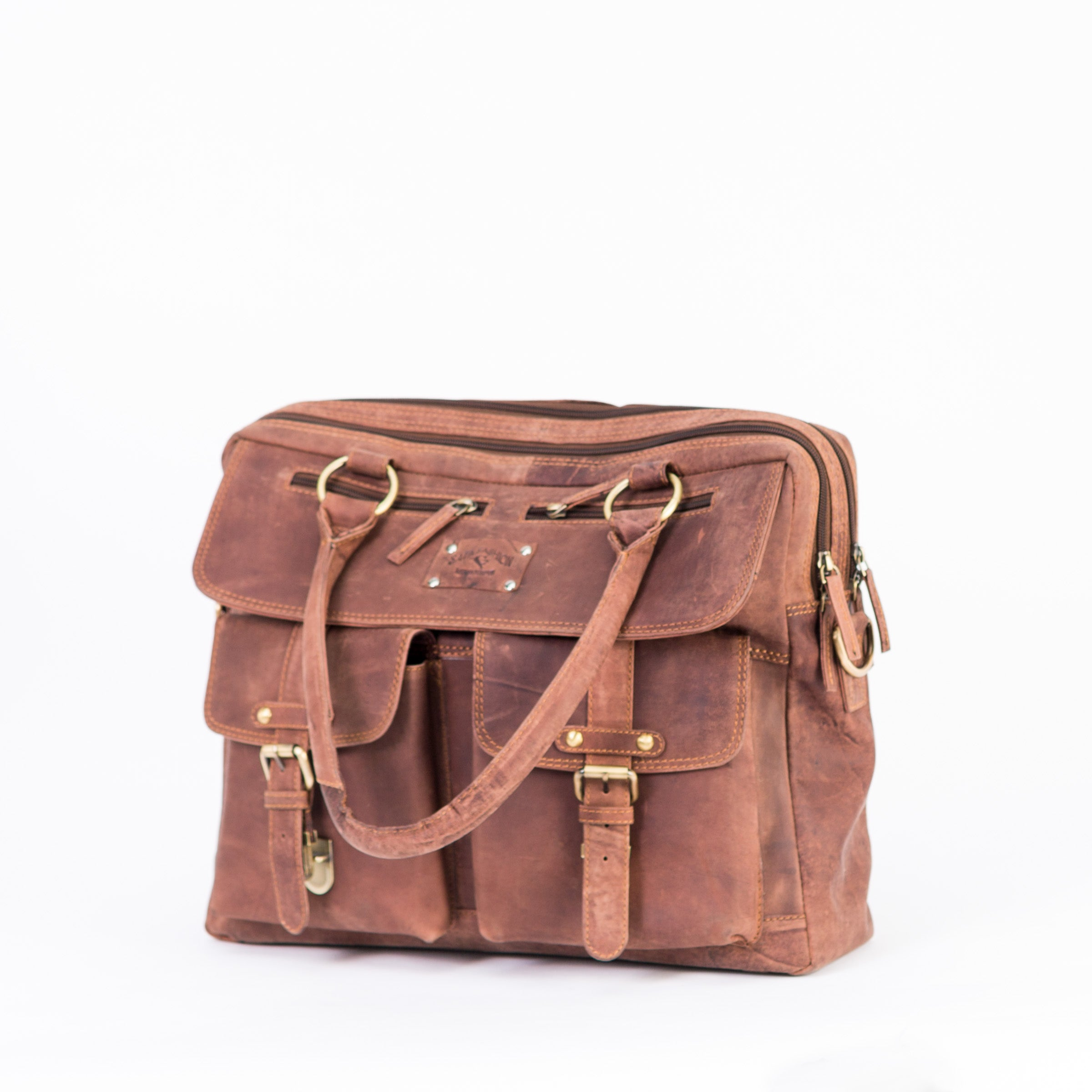 Spacious Vintage Laptop Bag