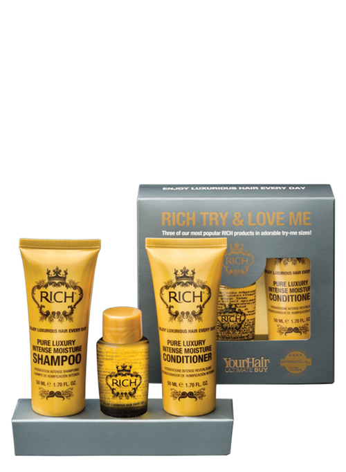 RICH pure luxury try and love me kit