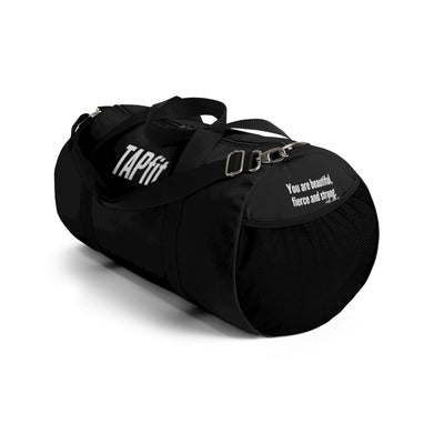 TAPfit Tribe Duffle Bag - Black