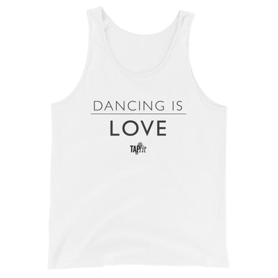 """Dancing Is Love"" Tank Top"