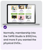 Upgrade To The TAPfit Studio