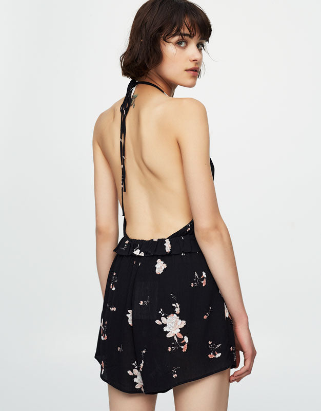 Flower Split Dress