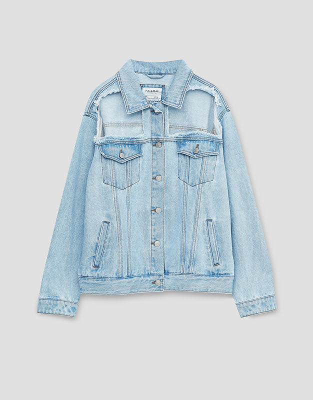 Denim Light Ripped