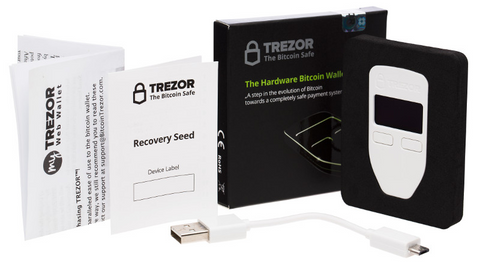 TREZOR Wallet - What's in the Box