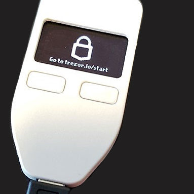 TREZOR Wallet - start screen
