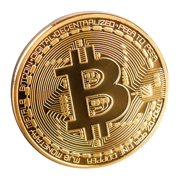 Gold/Silver Plated Collectable Bitcoin