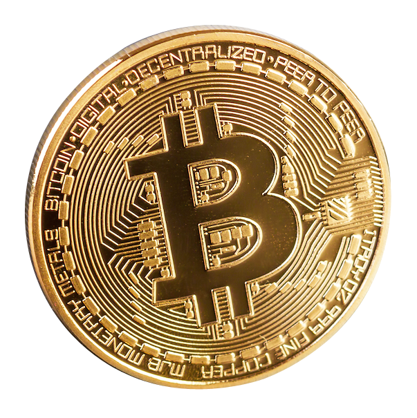 Gold/Silver Plated Collectable Bitcoin -