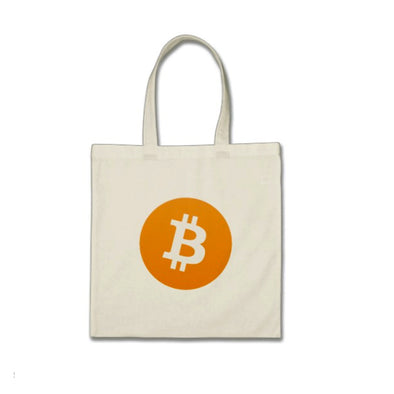 Bitcoin Symbol Mini Tote Bag