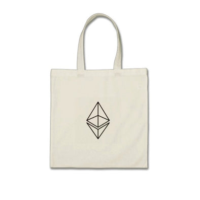 Ethereum Symbol Mini Tote Bag