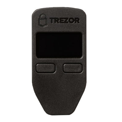 Trezor hardware wallet - black