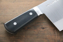 Sakai Takayuki Chinese Stainless Chopper Knife 195mm Cleaver - The Sharp Chef - The Best Authentic Japanese Chefs Knives in the UK from Iseya, Shigekis Tanaka and Sakai Takayuki, sharpening rods, whetstones, stones, saya sheath, handmade traditional blacksmith bladesmith steel damascus vg10 quality sharp chef knife kitchen layer hammered mirrored western handle aus-10 molybdenum