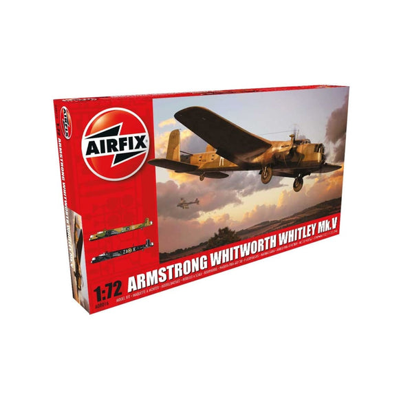 Airfix Armstrong Whitworth Whitley Mk.v 1:72 Plastic Kits