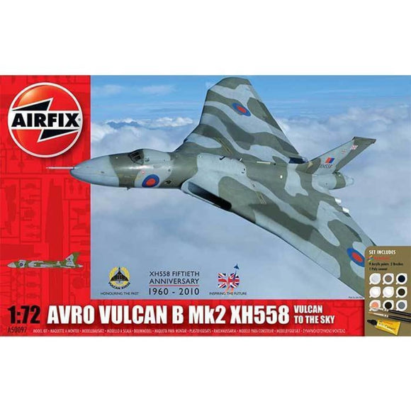 Airfix Avro Vulcan B Mk2 Xh558: Vulcan To The Sky Gift Set 1:72 Plastic Kits