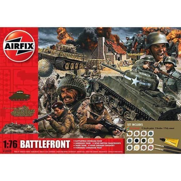 Airfix Battlefront Gift Set 1:76 D Day 70Th Anniversary Edition