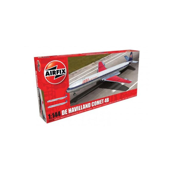 Airfix De Havilland Comet 4B Airliner 1:144 Plastic Kits