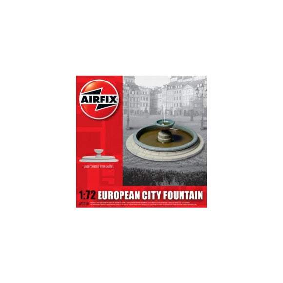 Airfix European City Fountain 1:72 Plastic Kits