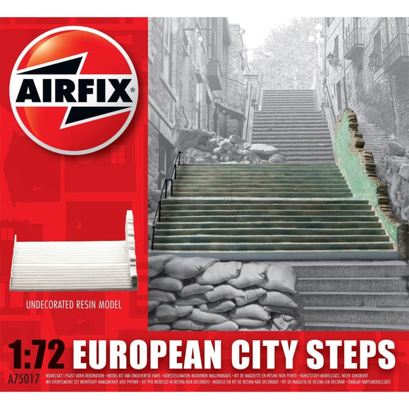 Airfix European City Steps 1:72 Plastic Kits