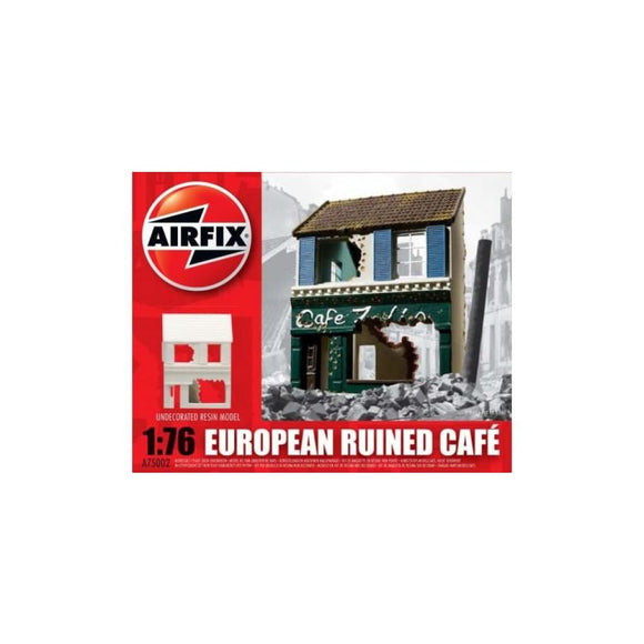 Airfix European Ruined Cafe 1:76 Plastic Kits